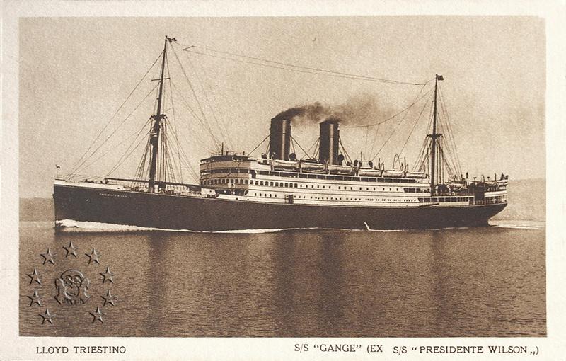 Kaiser Franz Joseph I -Presidente Wilson -Gange -Marco Polo 1_nave10