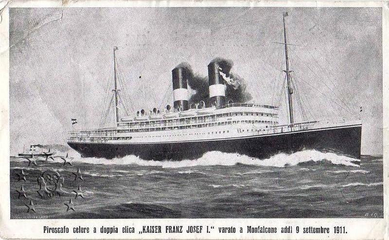 Kaiser Franz Joseph I -Presidente Wilson -Gange -Marco Polo 24_91710