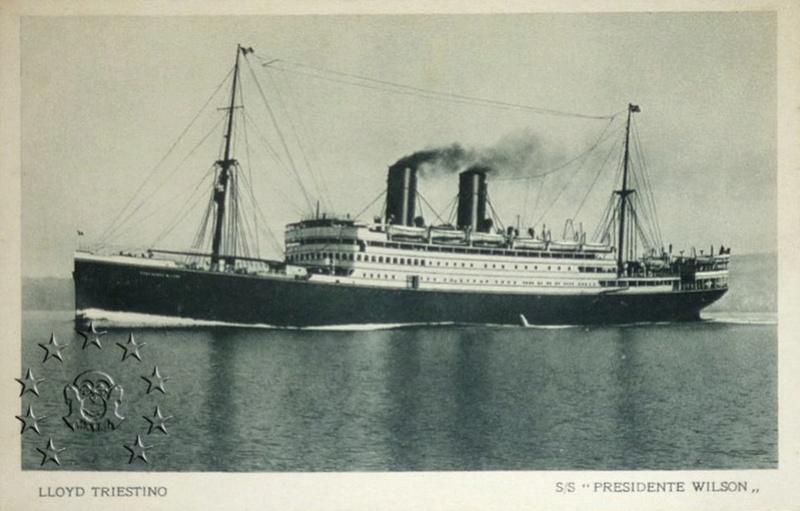 Kaiser Franz Joseph I -Presidente Wilson -Gange -Marco Polo 24_nav11