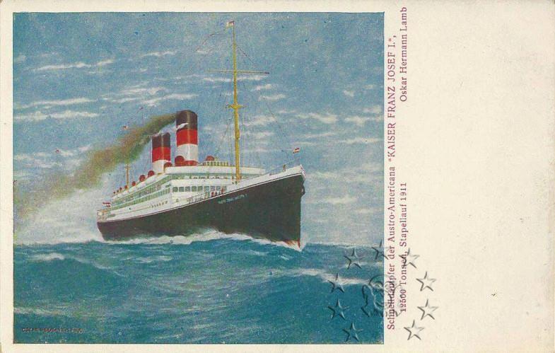 Kaiser Franz Joseph I -Presidente Wilson -Gange -Marco Polo 25_nav10