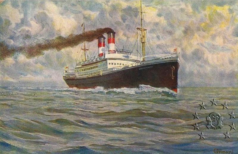 Kaiser Franz Joseph I -Presidente Wilson -Gange -Marco Polo 26_nav10