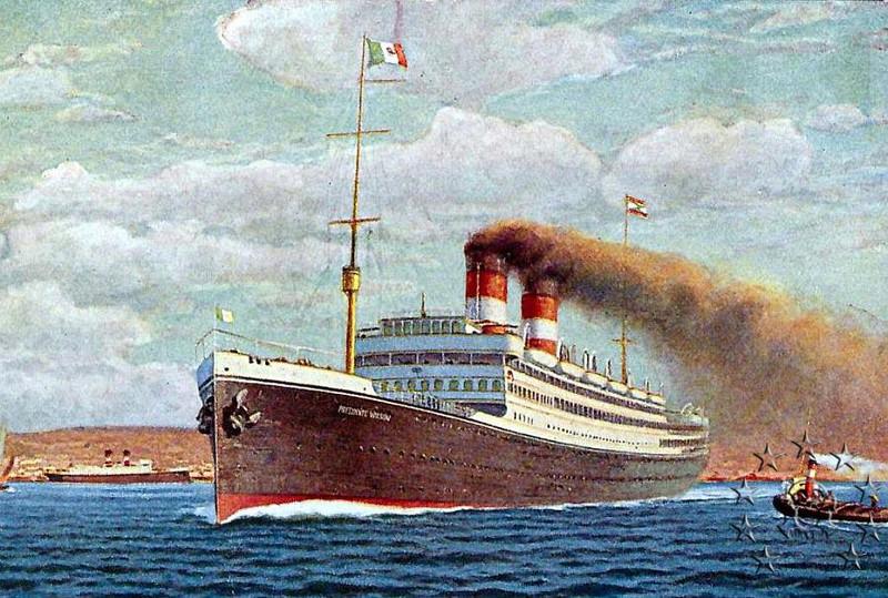 Kaiser Franz Joseph I -Presidente Wilson -Gange -Marco Polo 27_pre10