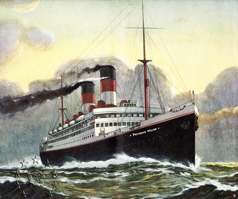 Kaiser Franz Joseph I -Presidente Wilson -Gange -Marco Polo 2_nave10