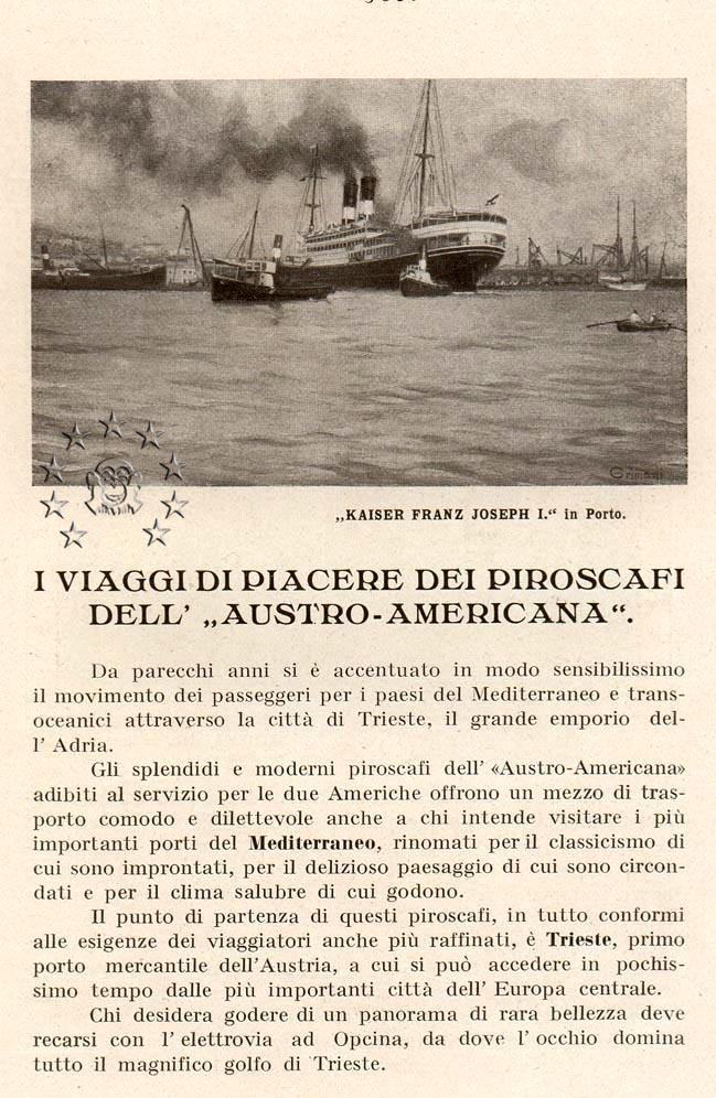 Kaiser Franz Joseph I -Presidente Wilson -Gange -Marco Polo 32_nav10