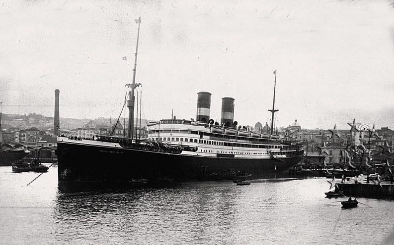 Kaiser Franz Joseph I -Presidente Wilson -Gange -Marco Polo 34_nav11
