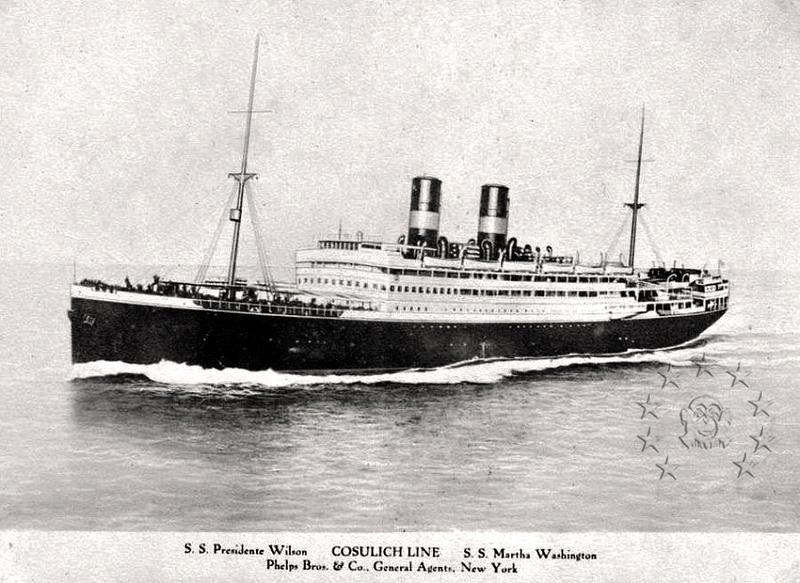 Kaiser Franz Joseph I -Presidente Wilson -Gange -Marco Polo 3_nave10