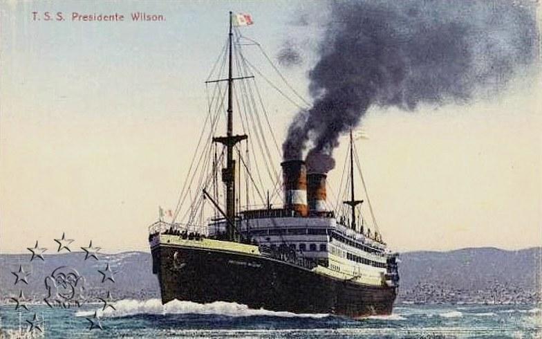 Kaiser Franz Joseph I -Presidente Wilson -Gange -Marco Polo 5_wils11