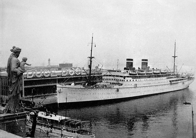 Kaiser Franz Joseph I -Presidente Wilson -Gange -Marco Polo 6_31_m10