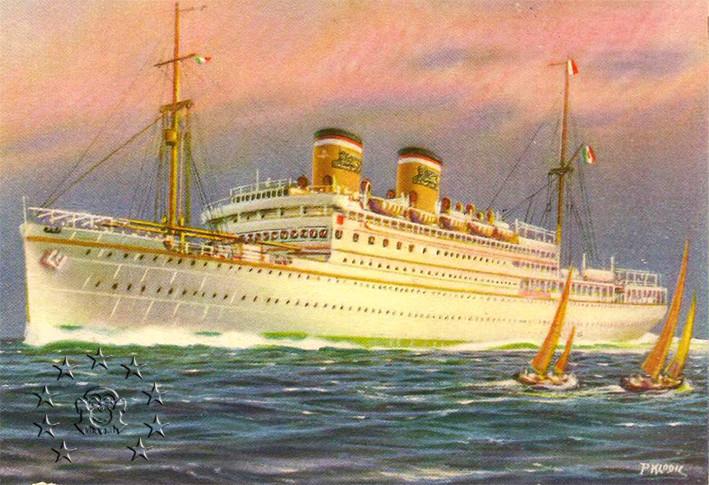 Kaiser Franz Joseph I -Presidente Wilson -Gange -Marco Polo 7_nave11
