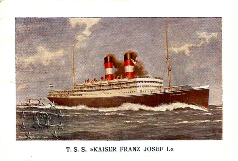 Kaiser Franz Joseph I -Presidente Wilson -Gange -Marco Polo 8_kais10