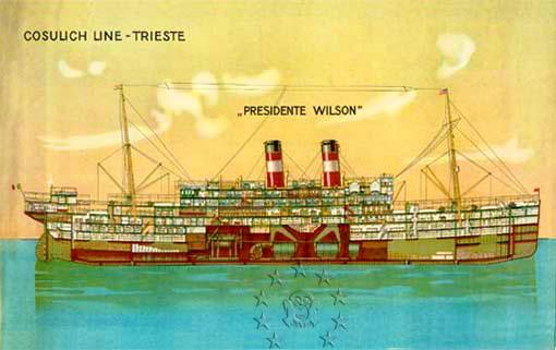 Kaiser Franz Joseph I -Presidente Wilson -Gange -Marco Polo 8_nave10