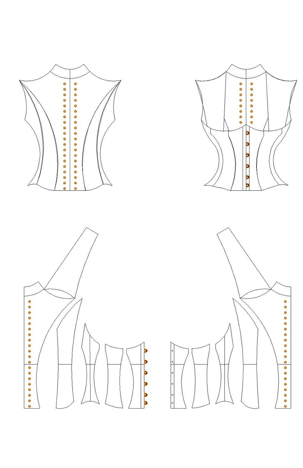 [MULTI-STYLES] Gilet corseté façon Dracula's Clothing Corset10