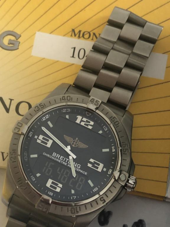 Breitling - [Baisse de prix][Vends] breitling aerospace advantage ----- 1600€ Img_3313
