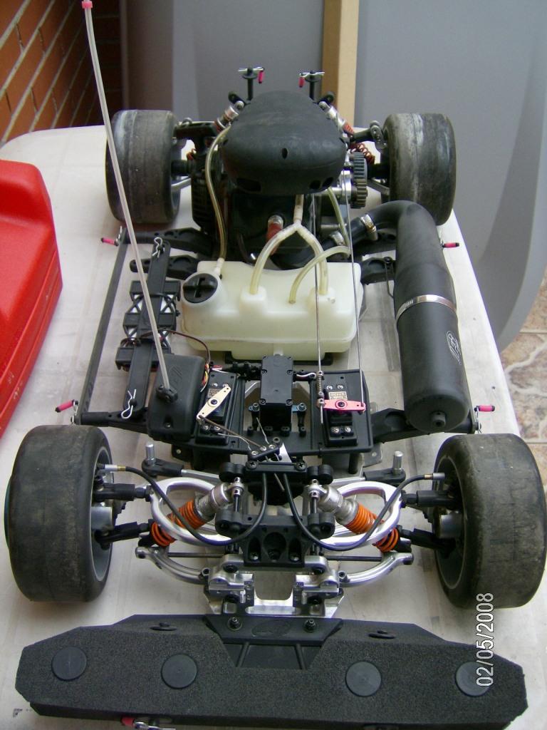 Camión RC 49cc Camian13
