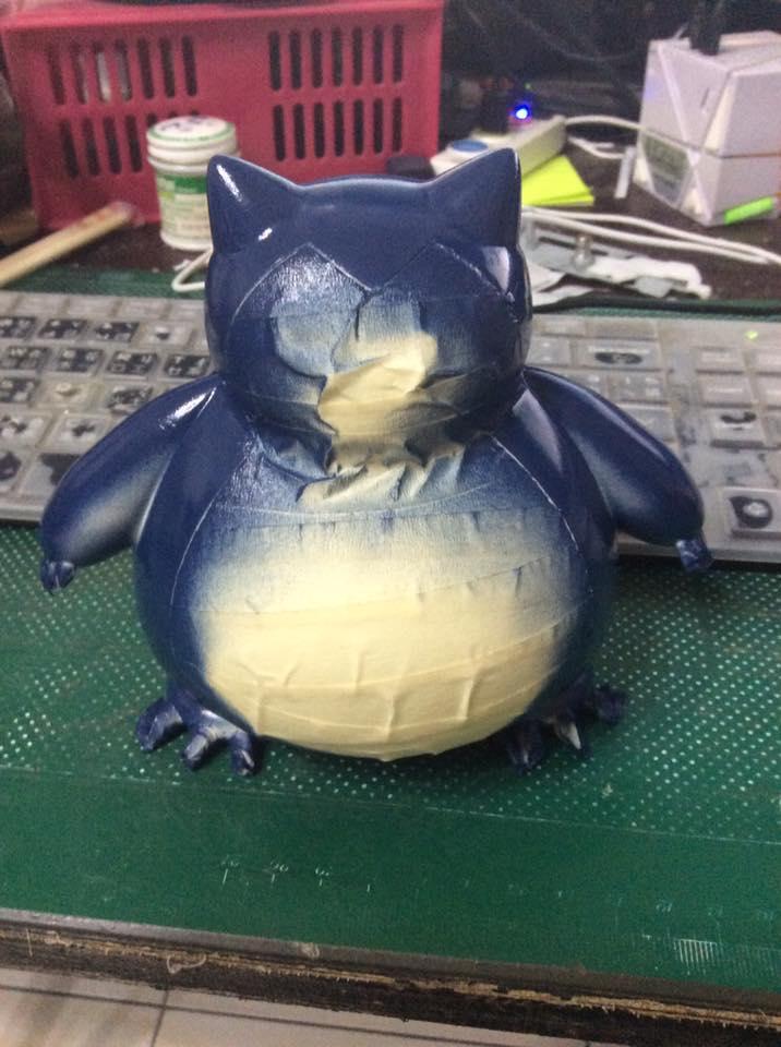 [作品]3D Printer 卡比獸 0210