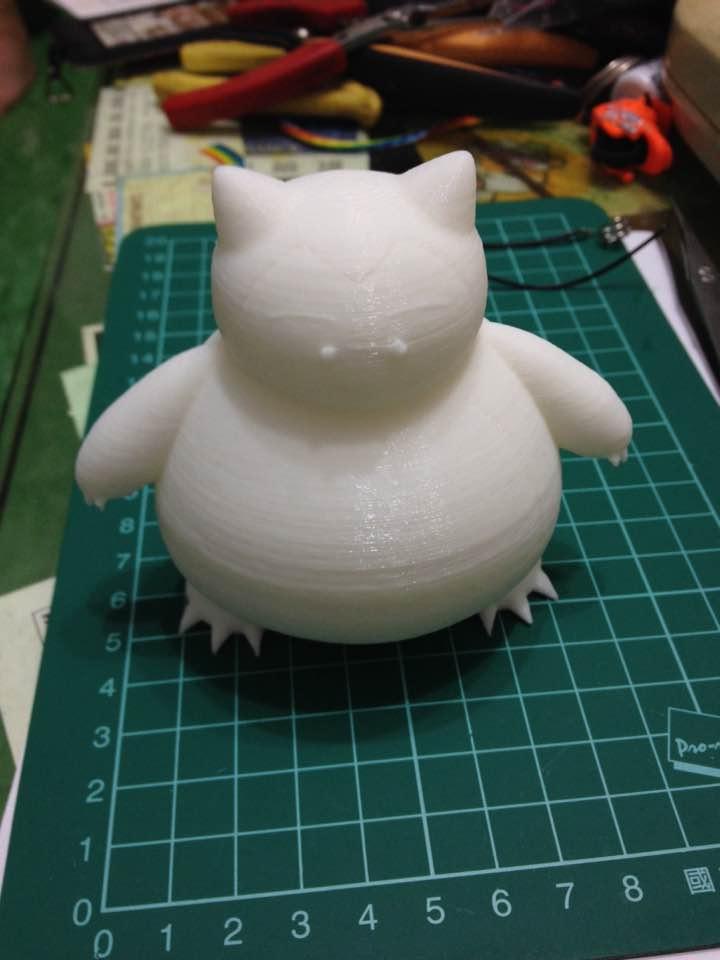 [作品]3D Printer 卡比獸 111