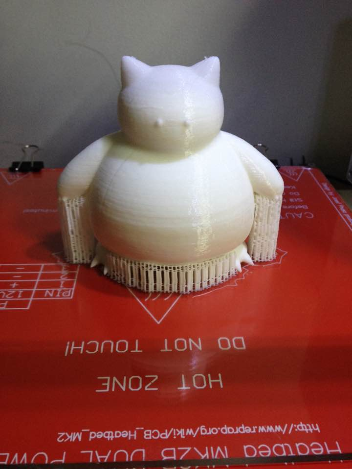 [作品]3D Printer 卡比獸 211