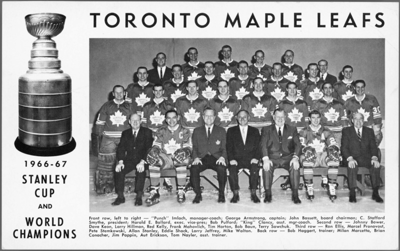 Coupe Stanley 2016-2017 Toronto Maple Leafs S0306_10