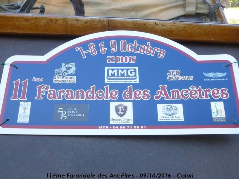[30] 11ème Farandole des Ancêtres 09/10/2016 Le Pont du Gard P1040510