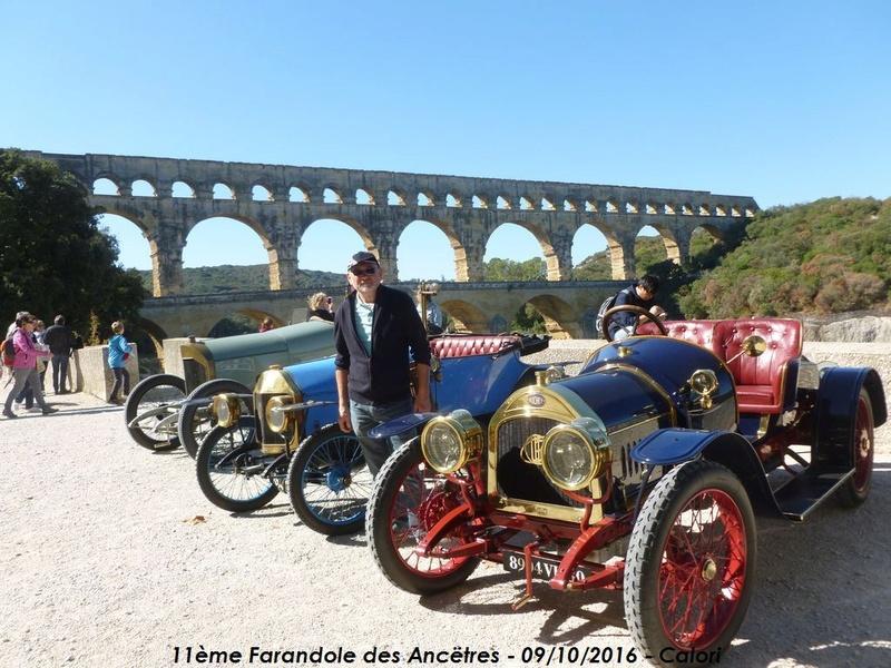 [30] 11ème Farandole des Ancêtres 09/10/2016 Le Pont du Gard P1040520