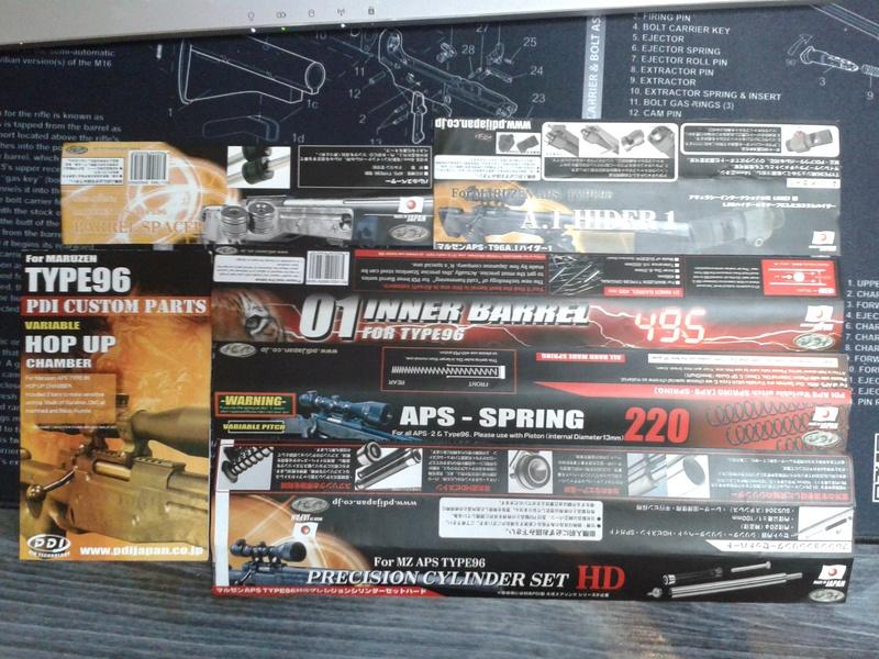 Mauser Sr (l96) + du matos..  20160710