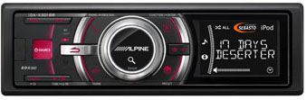 Promo Feuvert sur Autoradio Alpine ida-X301 Rouge10