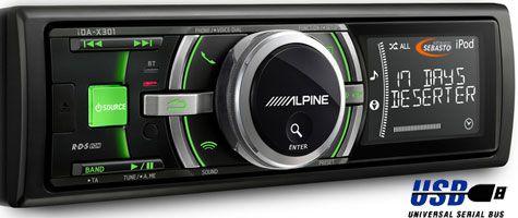 Promo Feuvert sur Autoradio Alpine ida-X301 Vert10