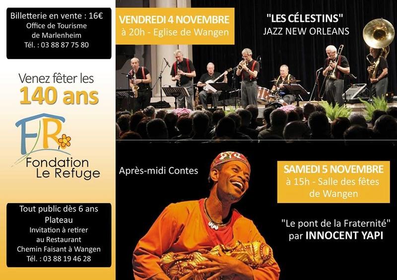 La Fondation Le Refuge fête ses 140 ans les 4-5-6 novembre 2016 14469410