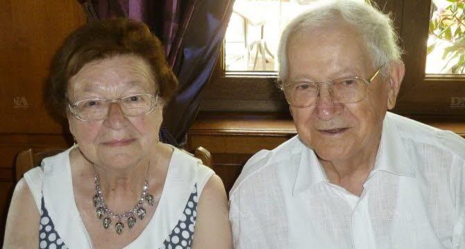 Mariage à Wangen fin des années 1950 : reconnaissez-vous les mariés? La famille? Des invités? Anny-e10