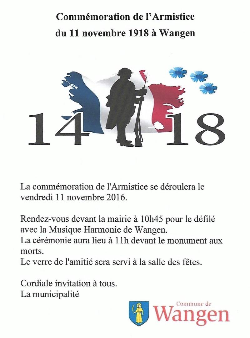 Commémoration de l'Armistice 11 novembre 2016 à 10h45 Scan0012
