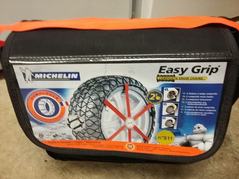 Vend chaines neige easygrip MICHELIN 20161015