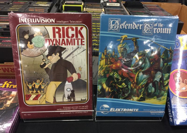 Rick Dynamite for the Mattel Intellivision - homebrew game 76b13810