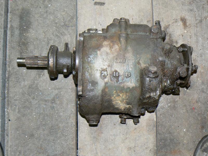 Dépose boite de vitesse P1000210