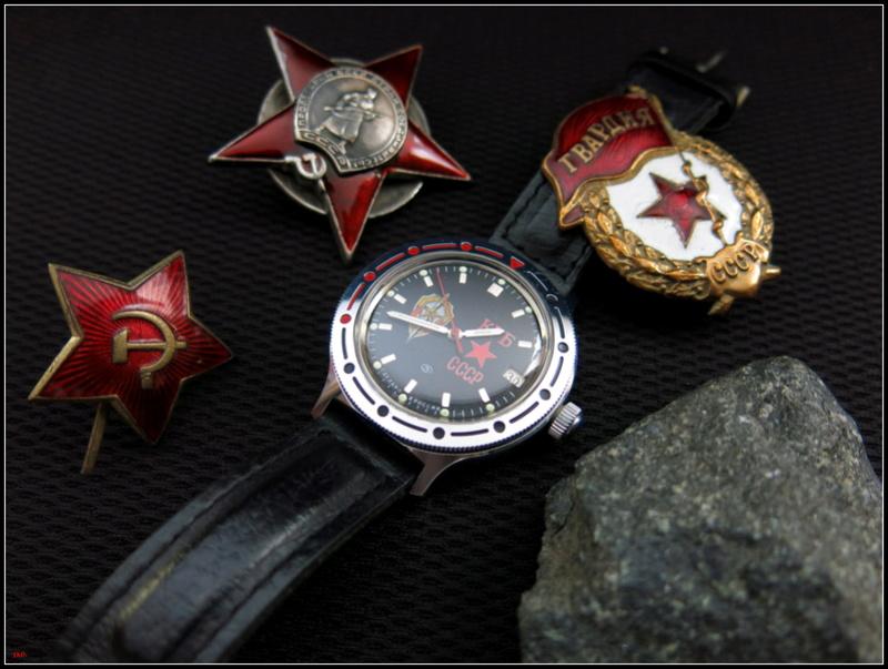 Nos montres avec un objet russe ou soviétique Russes10
