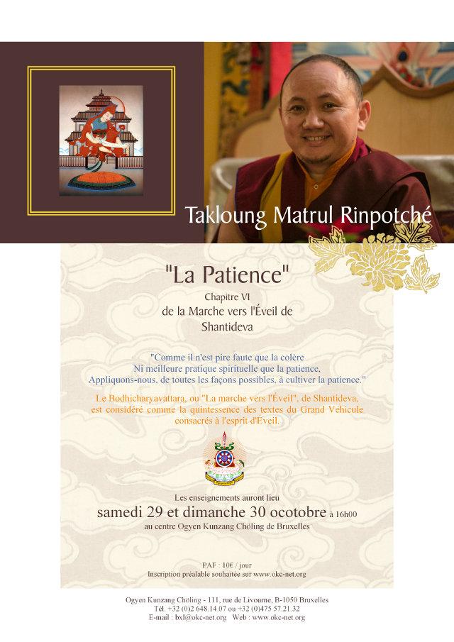 Matrul Rinpoché à Bruxelles Octobre 2016 A6360e10