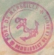 * MARSEILLE * 19161110