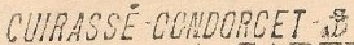 Condorcet - * CONDORCET (1911/1944) * 320410