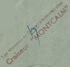 * MONTCALM (1937/1969) * 450410