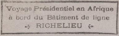 * RICHELIEU (1940/1968) * 615_0010