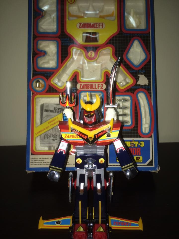 Robot-ZAMBOT-3-Junior-3-in-1-Ceppiratti-Die-Cast-1980-Zamboace-Zambull-Zambase   14359210