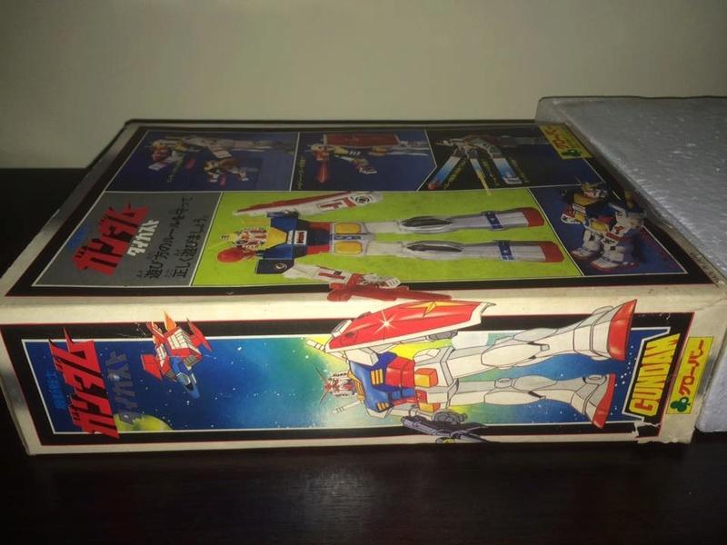 Robot-Gundam-RX-78-DX-Clover-con 70 80 Vintage Spara Dischi al Petto 14432910