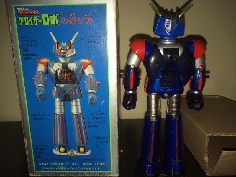 GLOISER X Gloizer x Groizer Popy Takara bullmark Dx METAL JAPAN '70 BOX 14432912