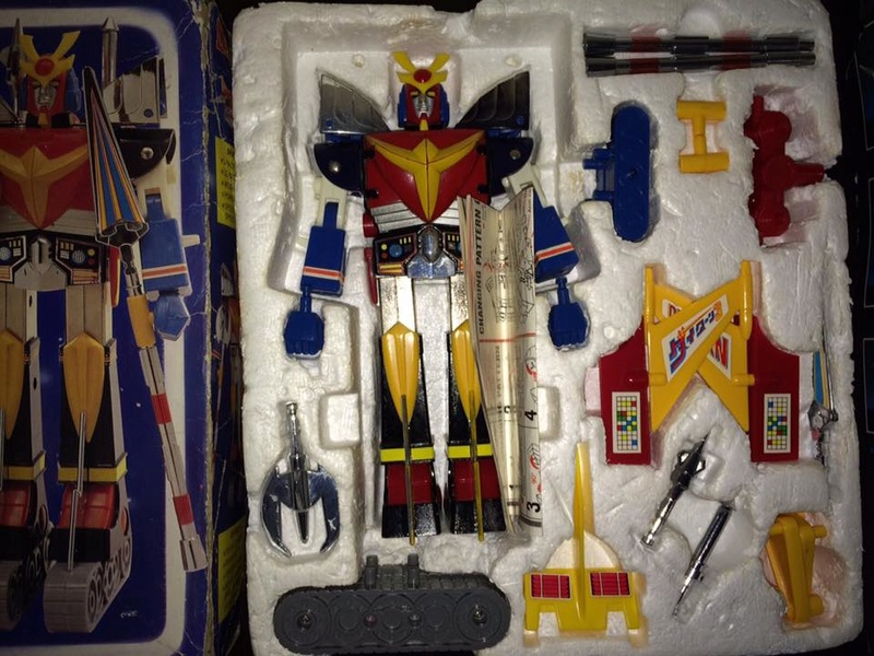 Daitarn 3 Clover DX Sunrise Deluxe set Daitan TRE Toys Anni 70 80 Vintage 14440610