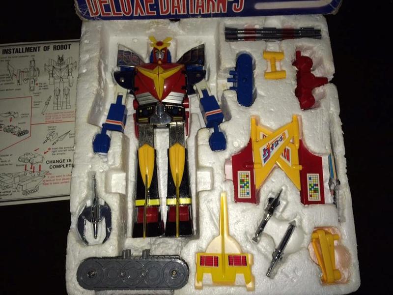 Daitarn 3 Clover DX Sunrise Deluxe set Daitan TRE Toys Anni 70 80 Vintage 14440910