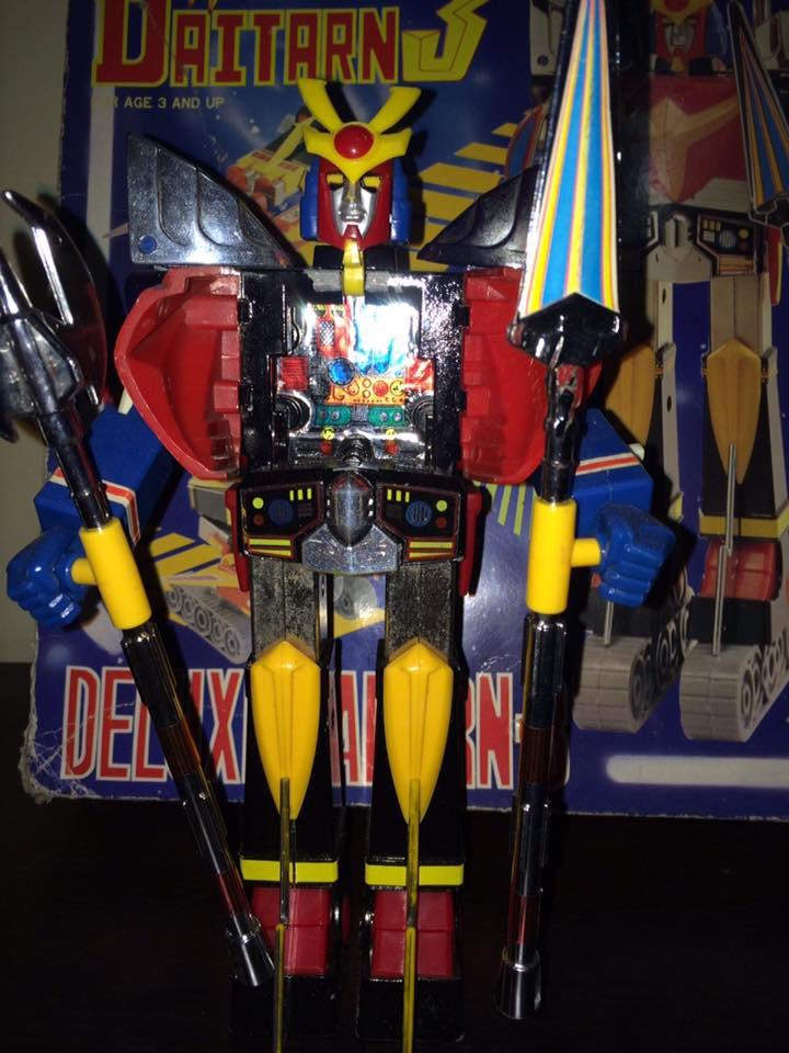 Daitarn 3 Clover DX Sunrise Deluxe set Daitan TRE Toys Anni 70 80 Vintage 14441010