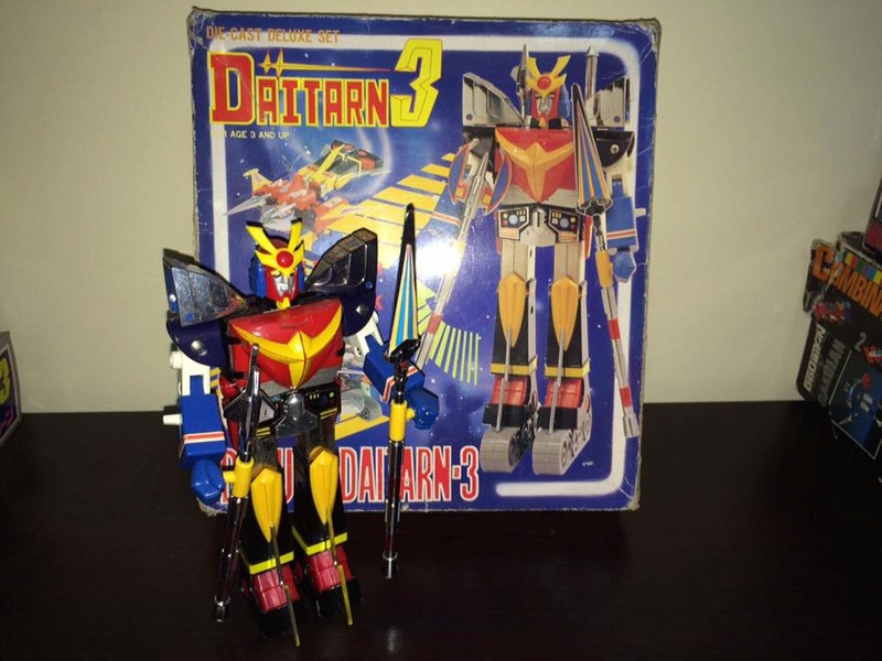 Daitarn 3 Clover DX Sunrise Deluxe set Daitan TRE Toys Anni 70 80 Vintage 14441110