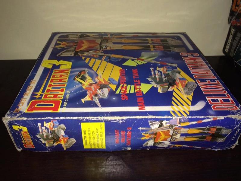 Daitarn 3 Clover DX Sunrise Deluxe set Daitan TRE Toys Anni 70 80 Vintage 14448910