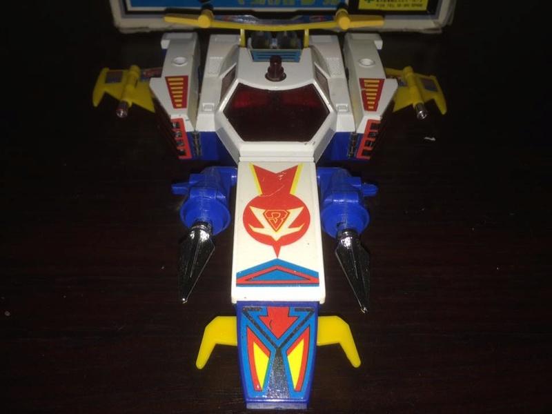 Daitarn 3 Daitan Match Patrol ST Deluxe Japan Machattacker Robot 70 80 Vintage 14448911