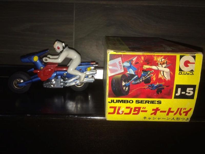 KYASHAN FLENDER BIKE GRIP JUMBO SERIES JAPAN GRIP J-5 TPYS VINTAGE ANNI 70 80 14449010