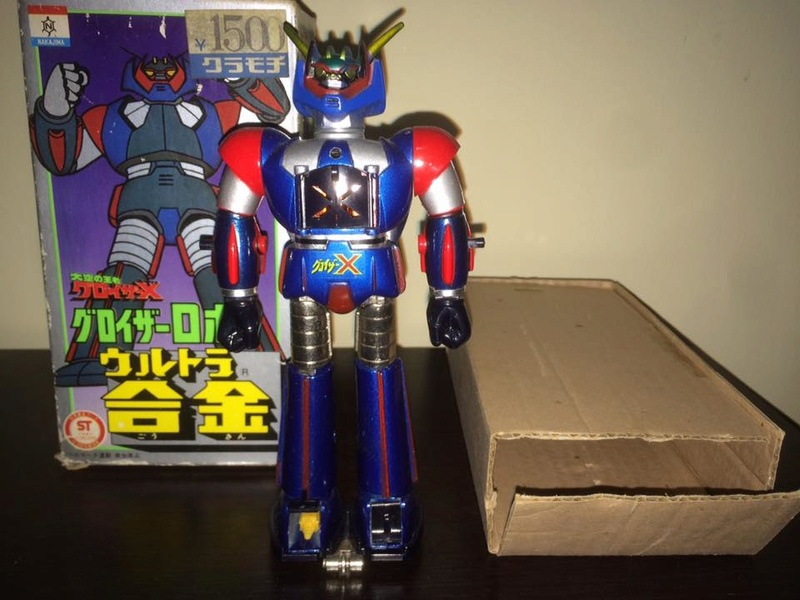 GLOISER X Gloizer x Groizer Popy Takara bullmark Dx METAL JAPAN '70 BOX 14449810